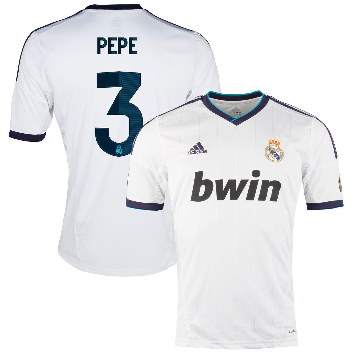 Real Madrid - Hjemmebanetrøje 2012/13 PEPE 3
